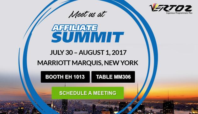 Meet Vertoz at Affiliate Summit 2017